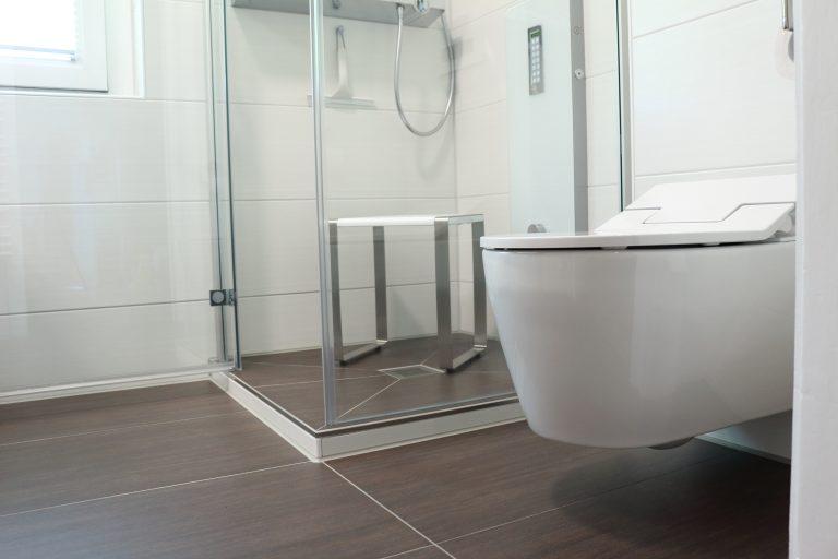 Badezimmer-Dresden mit Dusch-WC