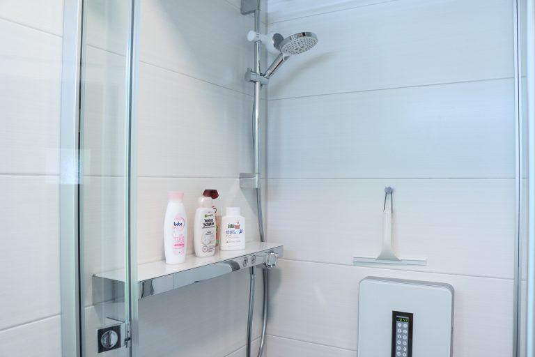 Dampfdusche mit Thermostat-Armatur